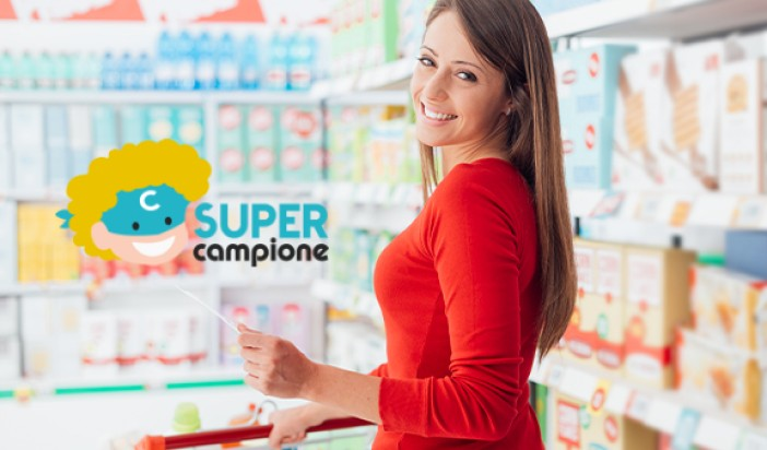 Supercampione: lo shopping con un click