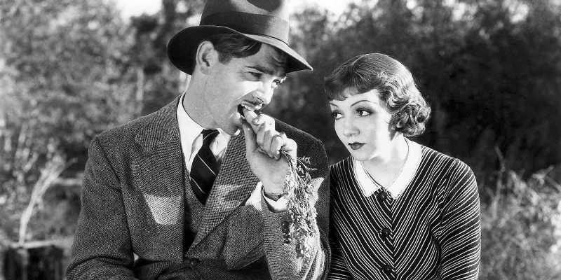 It Happened One Night (1934) Directed by Frank Capra Shown from left: Clark Gable, Claudette Colbert